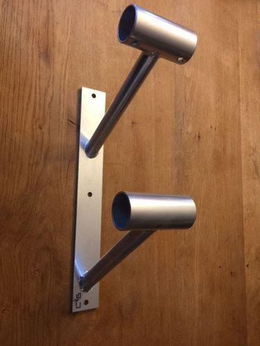 wall mounted ballet barre. Doubler En Lair - Double Wall Mounted Ballet Barre Bracket