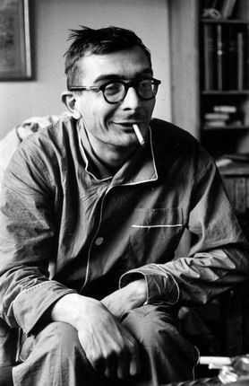 Claude Chabrol 1959 by Jeanloup Sieff
