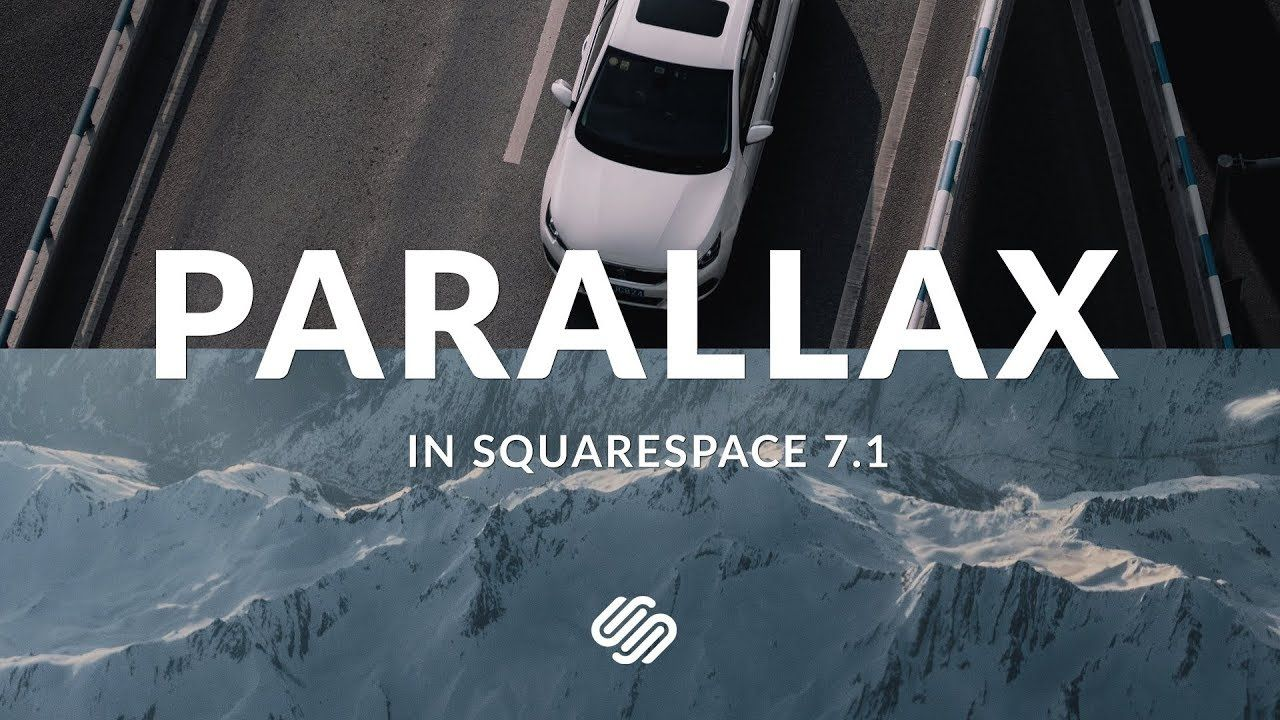 How to Add Parallax to Squarespace 7.1 - YouTube