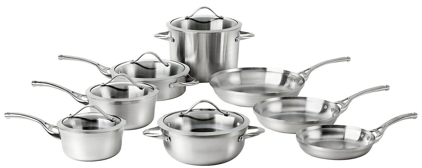 Calphalon Contemporary Cookware Set 13pc   Free Shipping