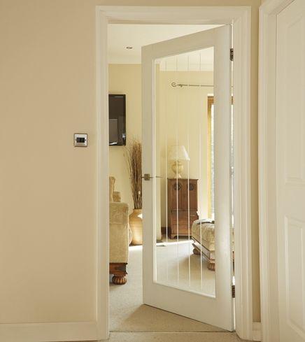 Dordogne smooth glazed door | Internal moulded panel doors | Doors on