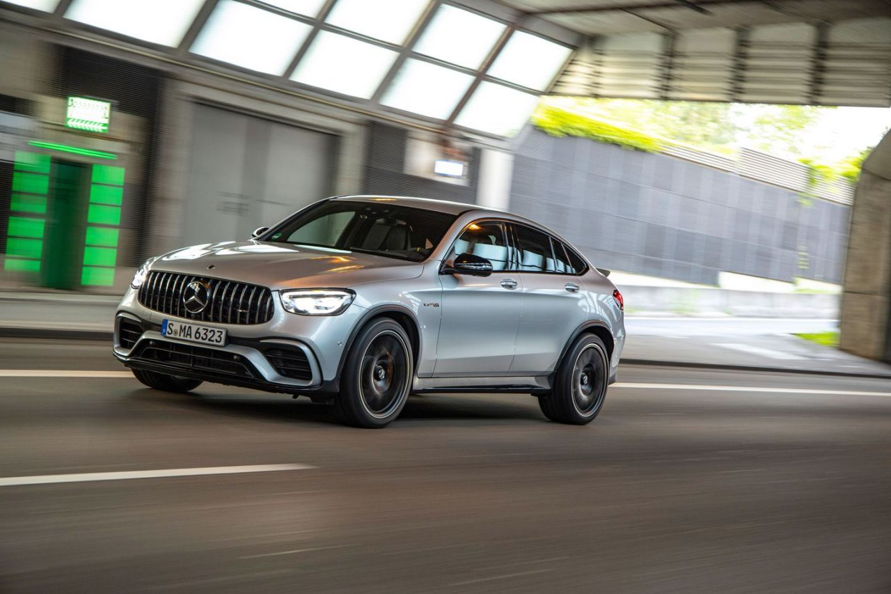 Photos Of The 2020 Mercedes Amg Glc63 S Coupe With Images