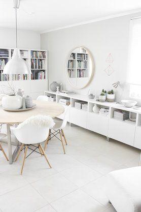 Die Schonsten Ideen Mit Dem Ikea Besta System Speisezimmereinrichtung Wohnen Esszimmer Dekor Ideen