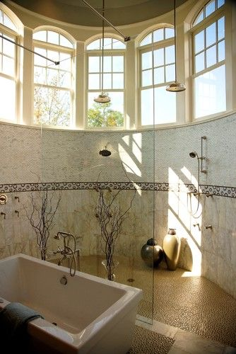 Tile Decor Orlando My Dream Toiletbathroom Pebble Floor Tiles Design Pictures