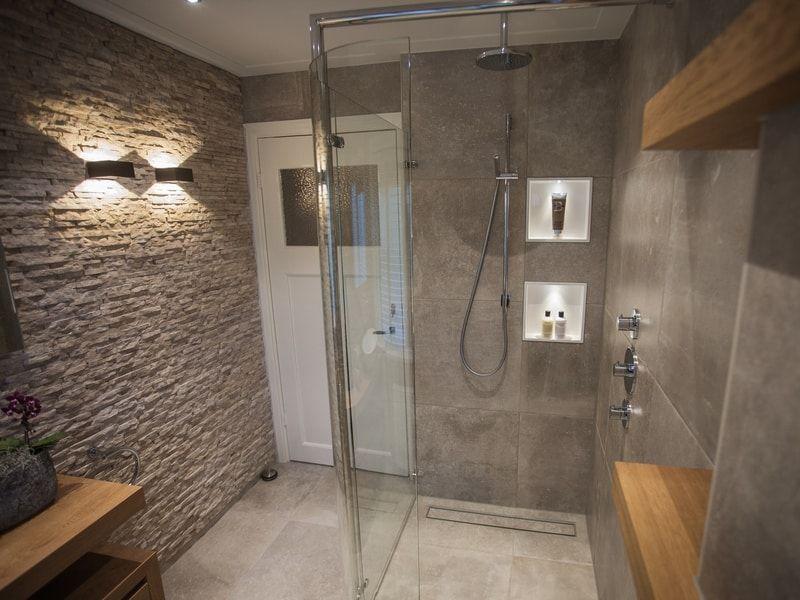 Overzicht badkamer loosdrecht richting entree bathroom pinterest