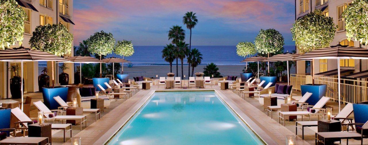 Weekend Getaway Hotels In Santa Monica Loews Beach Hotel California