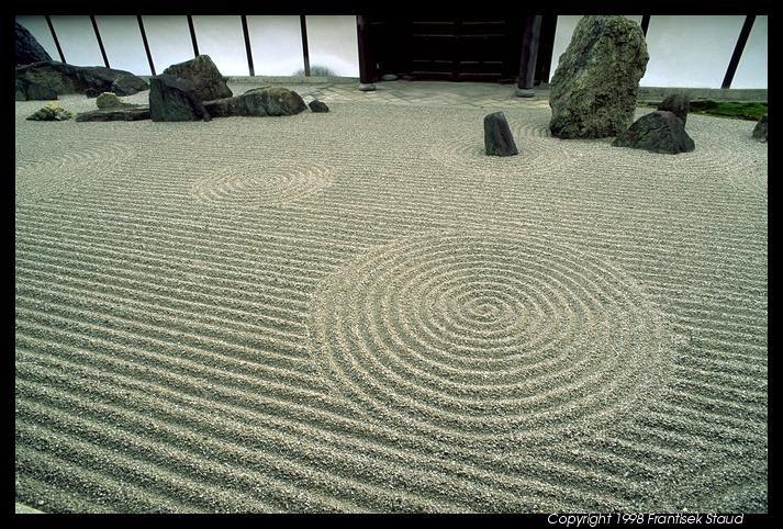 Japanese rock garden japanese gardens Pinterest Japanese rock