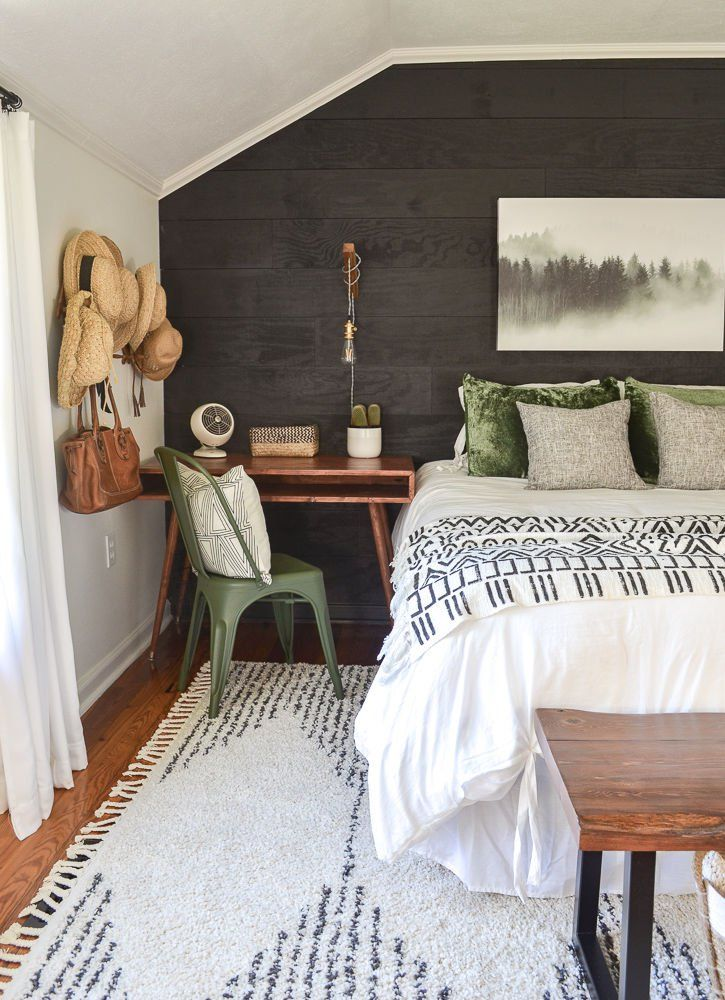 Room Reveal Guest Bedroom Makeover On A Small Budget Home