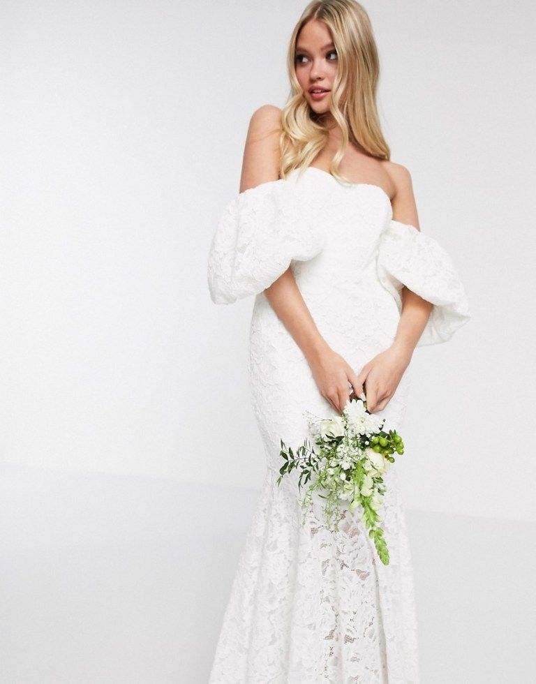 The Bridal Shop At Asos Wedding Dresses For Budget Brides In 2020 Wedding Dresses Lace Asos Wedding Dress Affordable Bridal Gowns