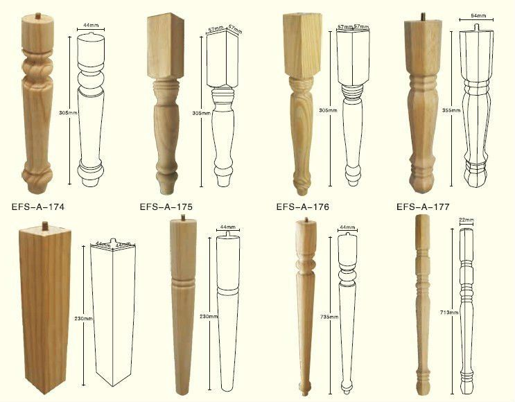 P s torneados para mesa pre o pesquisa google projetos - Patas torneadas de madera ...