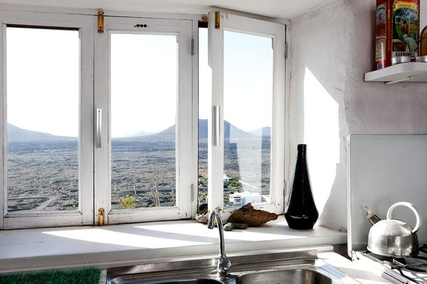Sink with a view