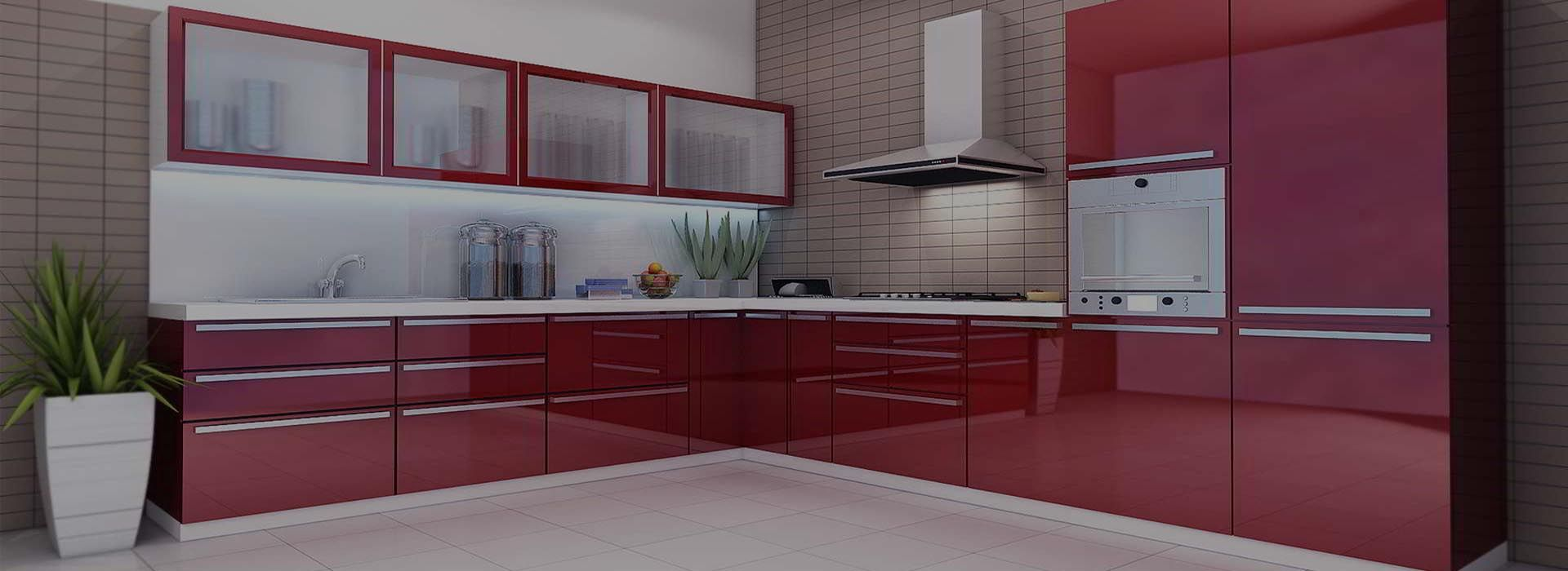 Modular kithcen with latest technology and utilization of space. Get ...