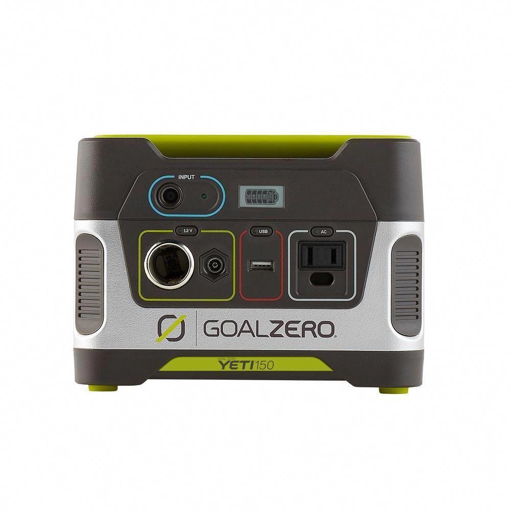 Goal zero yeti 150 80watt battery powered portable