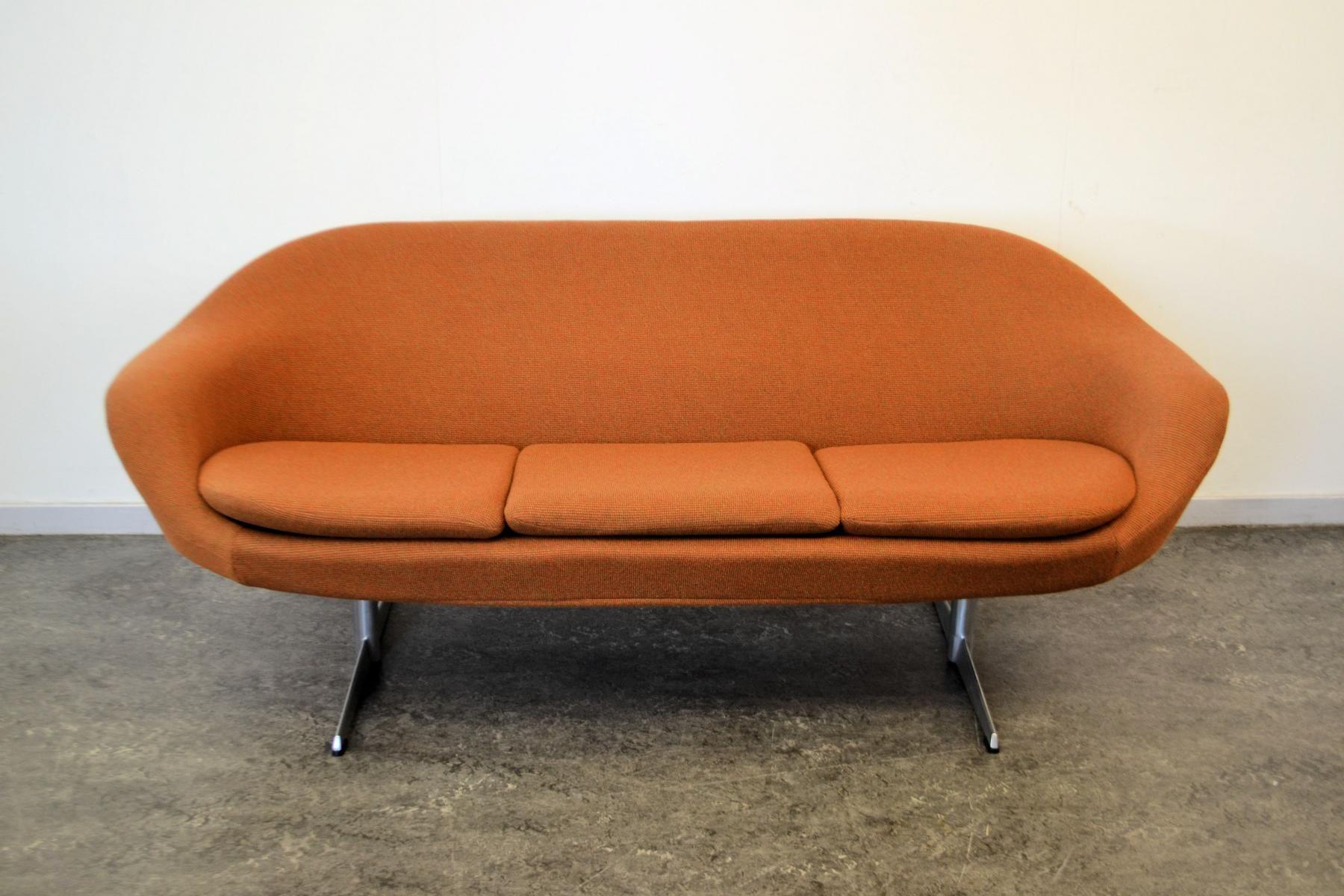 Dänisches Vintage Drei Sitzer Sofa 2 Vintage Möbel