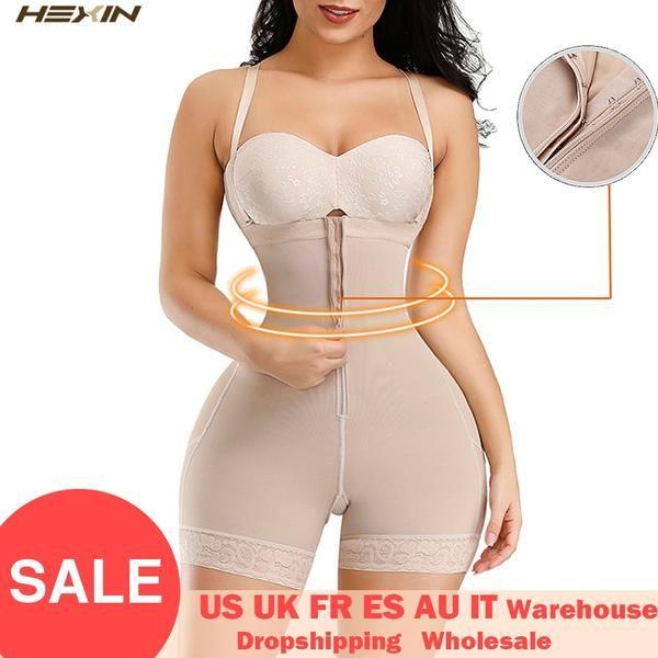 Photo of HEXIN Plus Shapewear Workout Waist Trainer Corset Butt lifter Tummy Control Plus Size Booty Lift