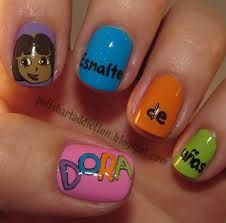 Dora Nails Haha Nails Pinterest