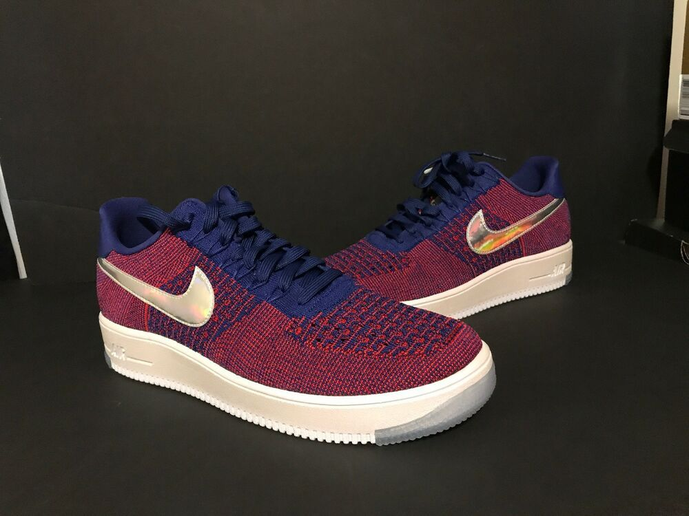 826577 601 Rot Nike Air Force 1 Ultra Flyknit Low Basketball