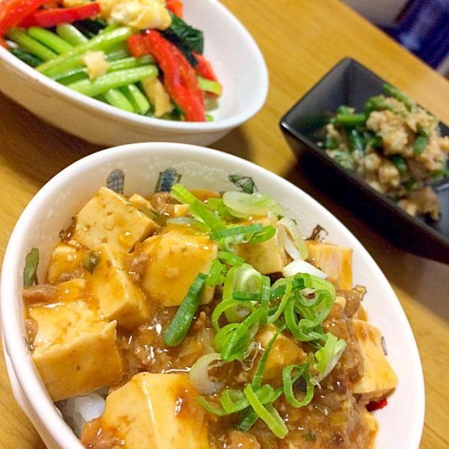 今日は中華* - 18件のもぐもぐ - 麻婆豆腐* by yui0208