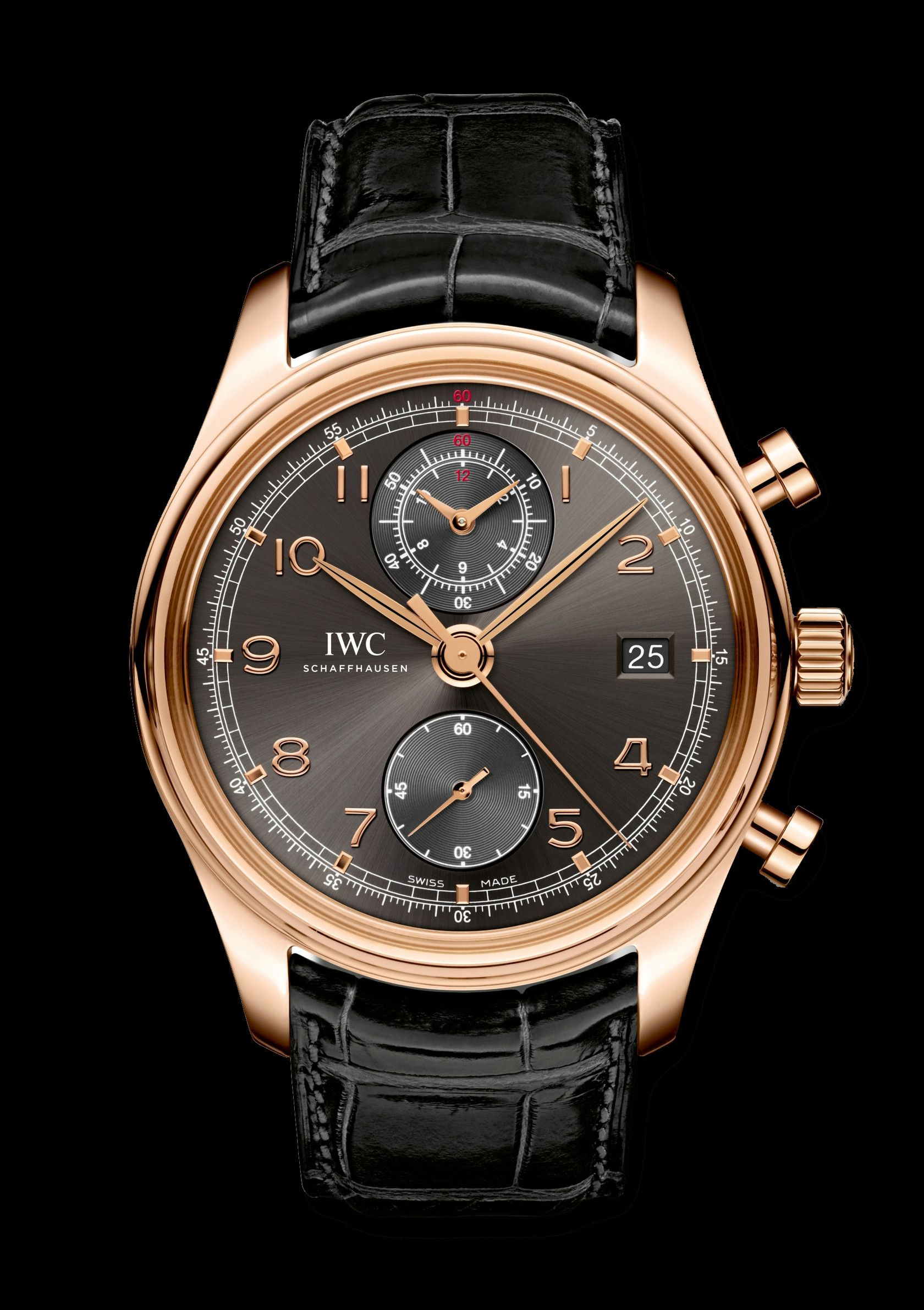 Iwc Watch Portuguese Chronograph On Classic dxthrCsQ