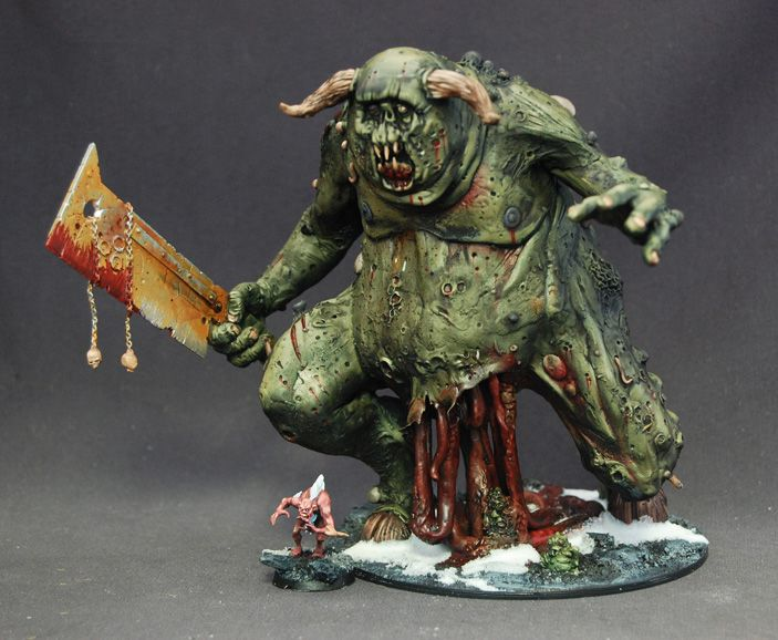 Khorne Demon Army and Custom Sculpted Nurgle GUO on Ebay ...