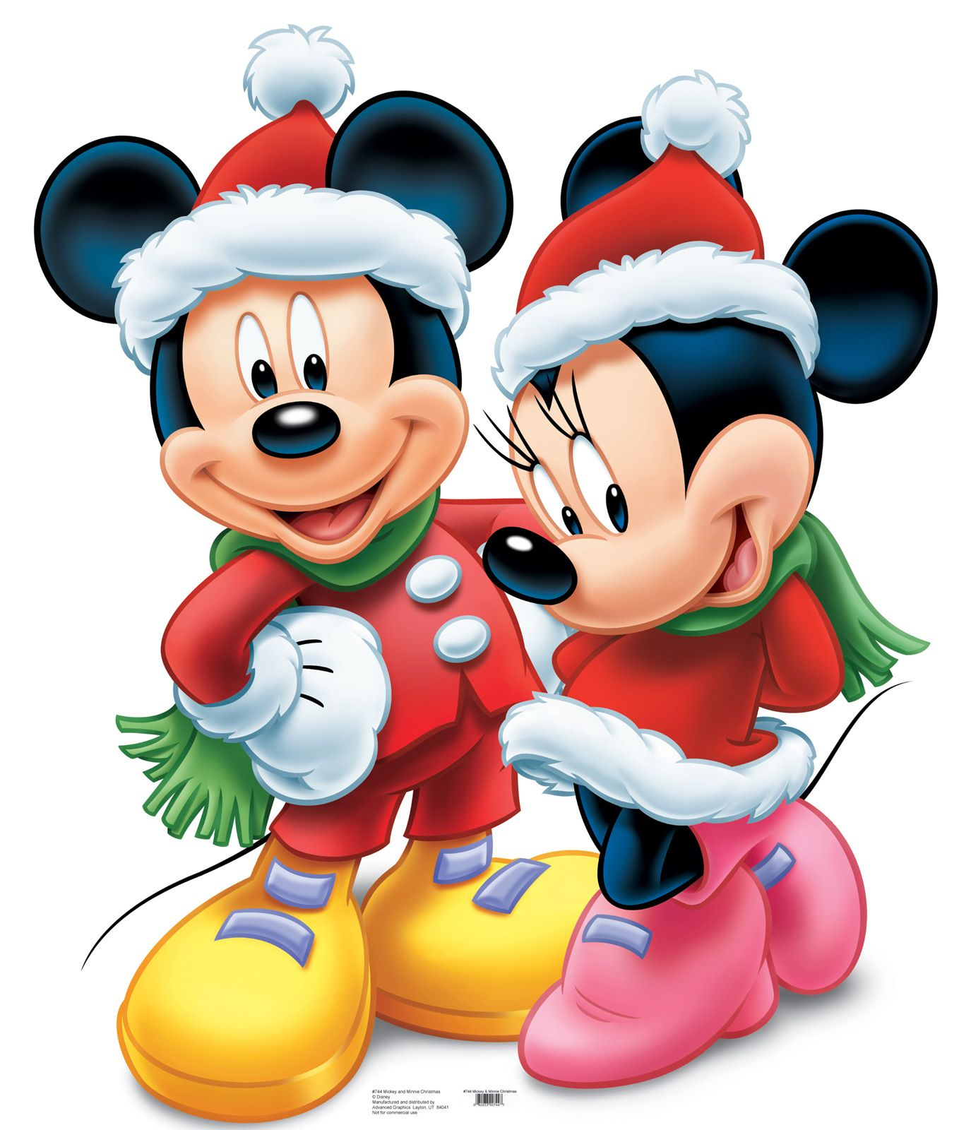 Minnie disney disney mickey and minnie mouse christmas - Minnie mouse noel ...