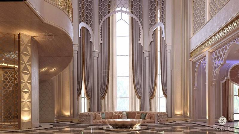 تصميم مدخل فيلا داخلي منزل Luxury House Interior Design Moroccan Style Interior Classic Interior Design