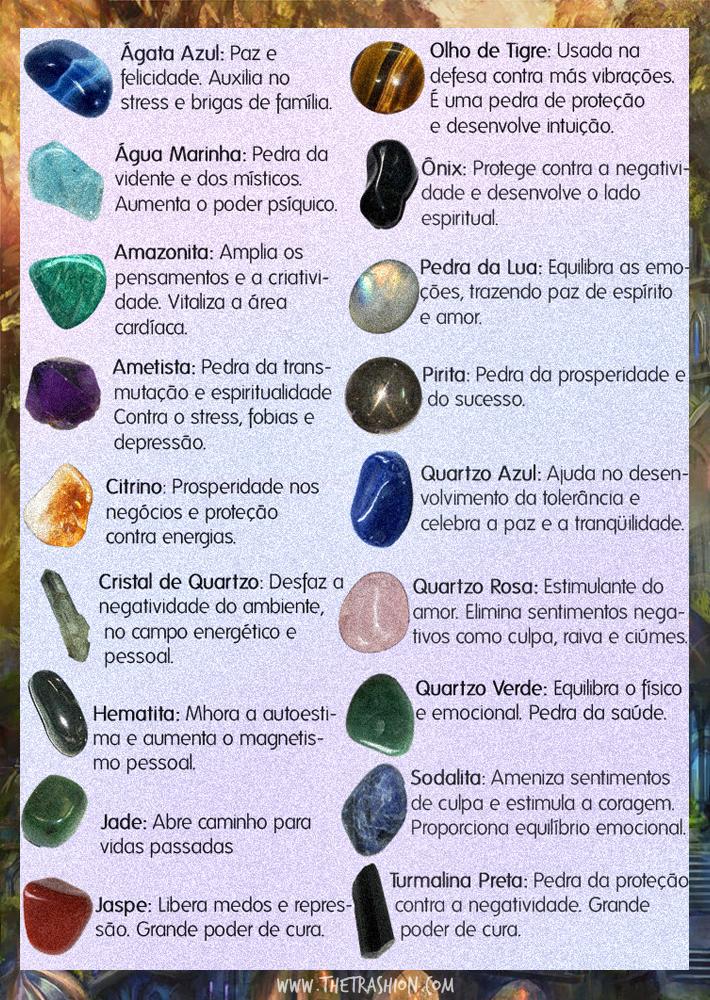 Resultado de imagem para pedras e significados