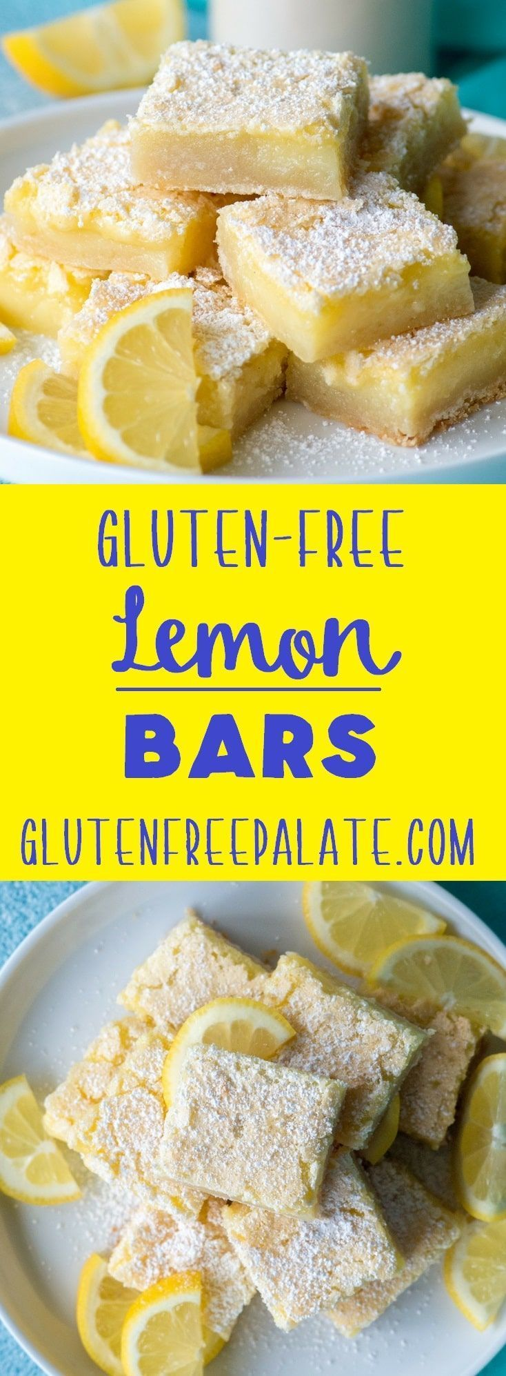 Easy Gluten-Free Lemon Bars Easy Gluten-Free Lemon Bars that are sweet, tangy, and refreshing. You are going to love how quick this recipe pulls together.