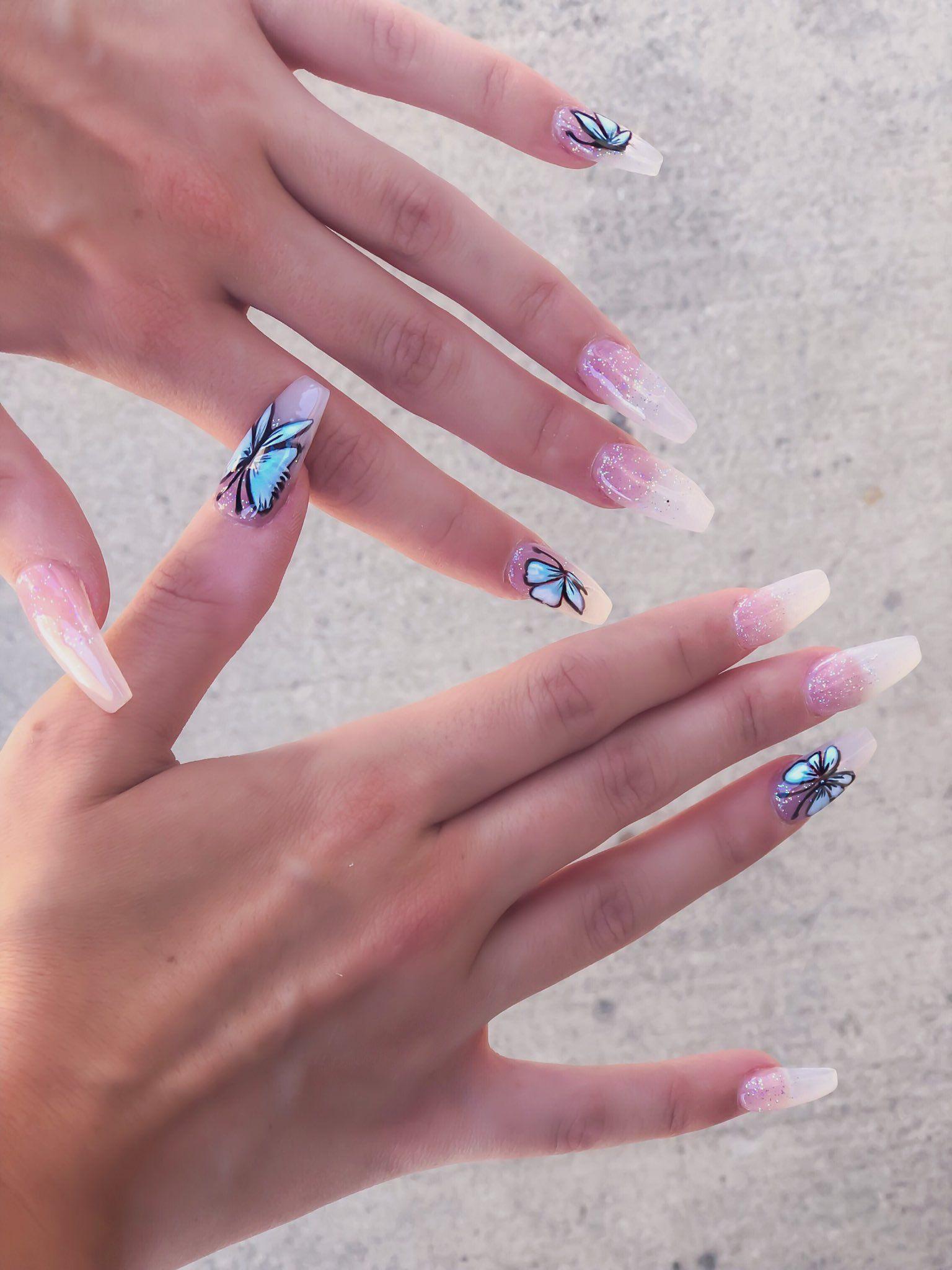Cute acrylic nails