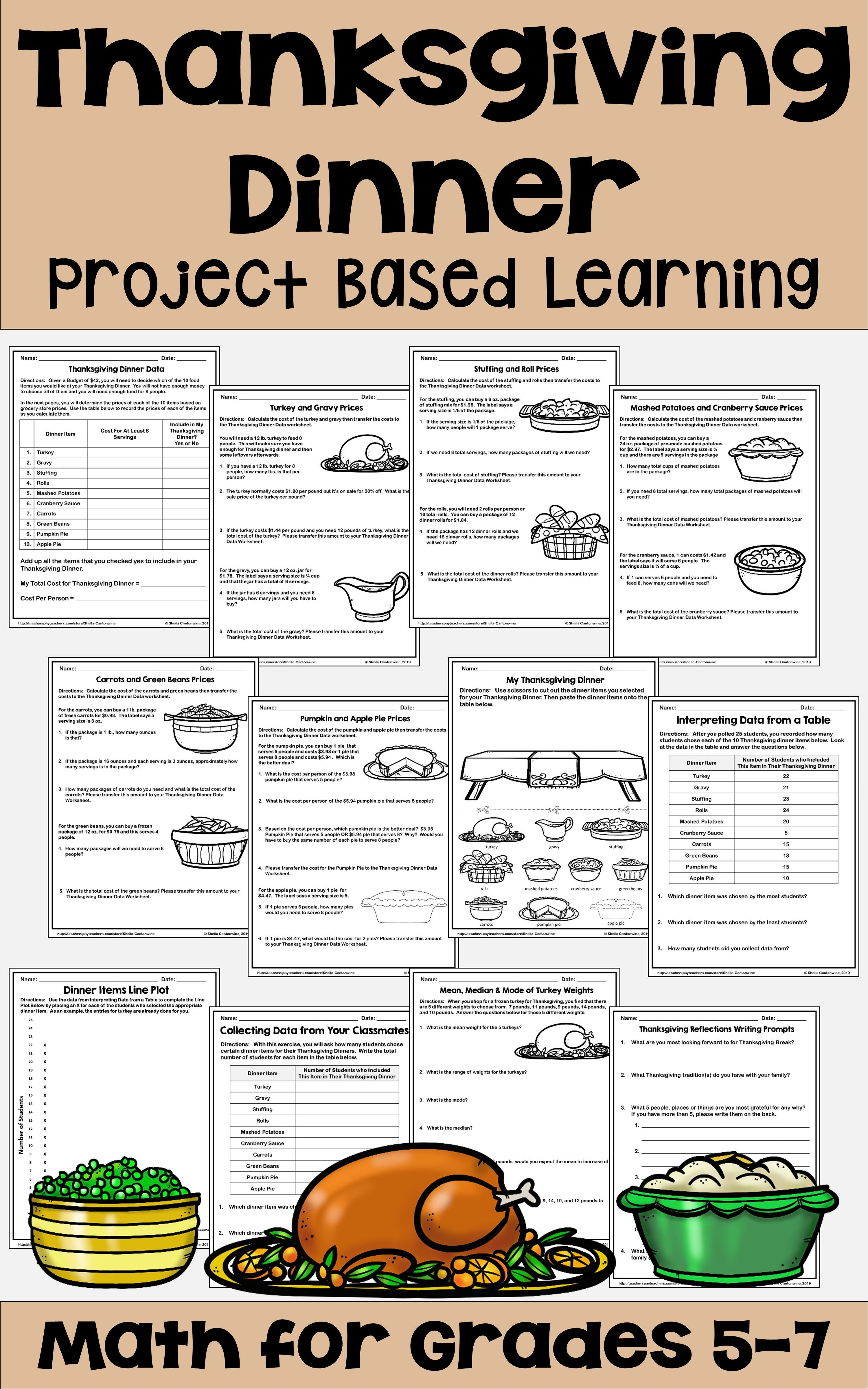 Thanksgiving Math For Grades 5 7 Project Based Learning Thanksgiving Math Activities Project Based Learning Thanksgiving Math [ 4800 x 3000 Pixel ]