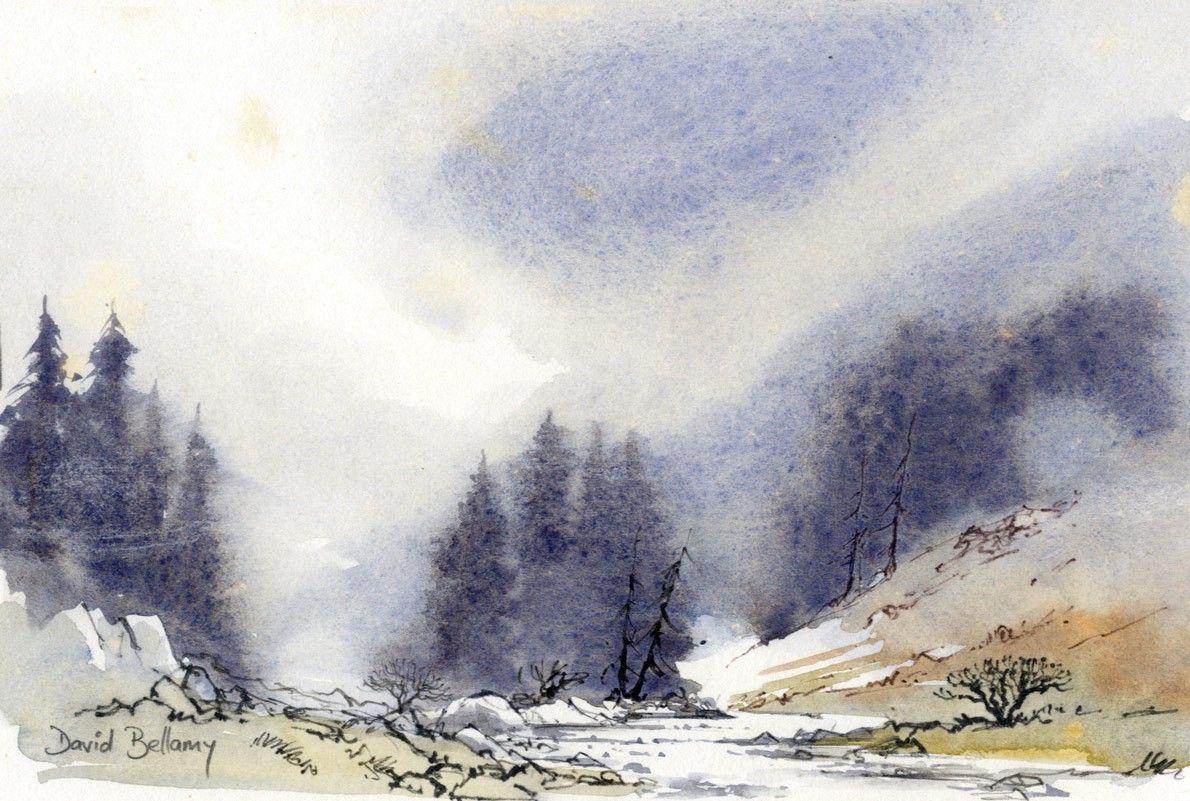 Renew watercolor artist magazine - Buy David Bellamy Contemporary Watercolour Glencoe Art At Sulis Fine Art
