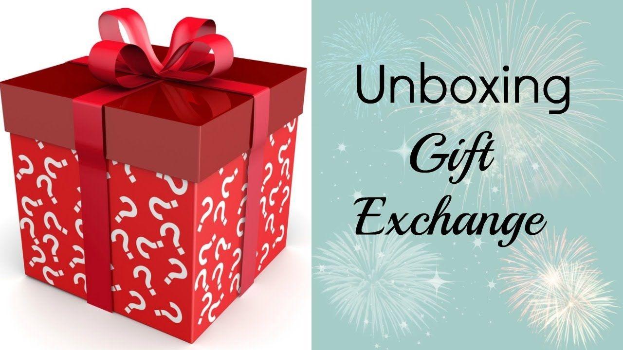 New Years Gift Exchange   Secret Santa Unboxing (+playlist ...
