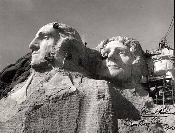 mount rushmore completed 1941