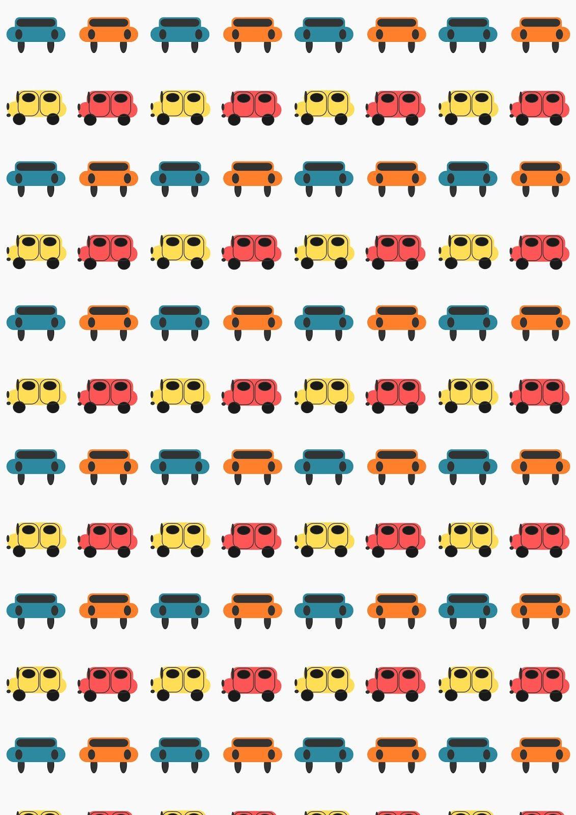 Scrapbook ideas printable - Free Printable Children S Art Car Pattern Paper So