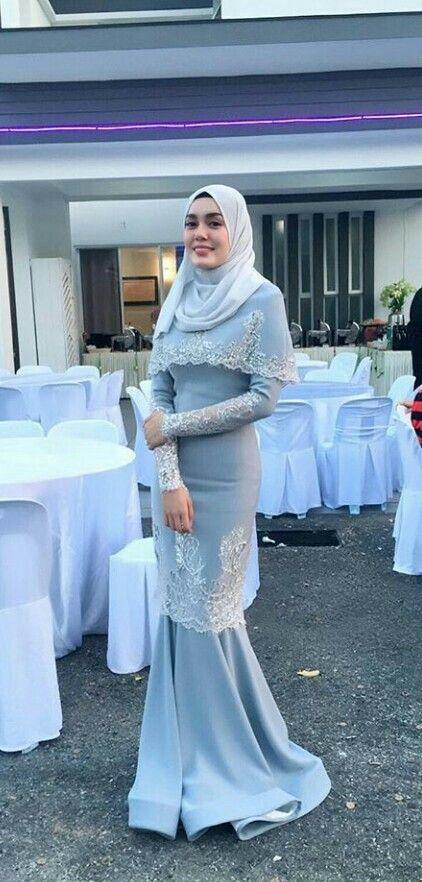 Kebaya Modern Berjilbab Syar I Modis Sey Kebaya Dress Brokat