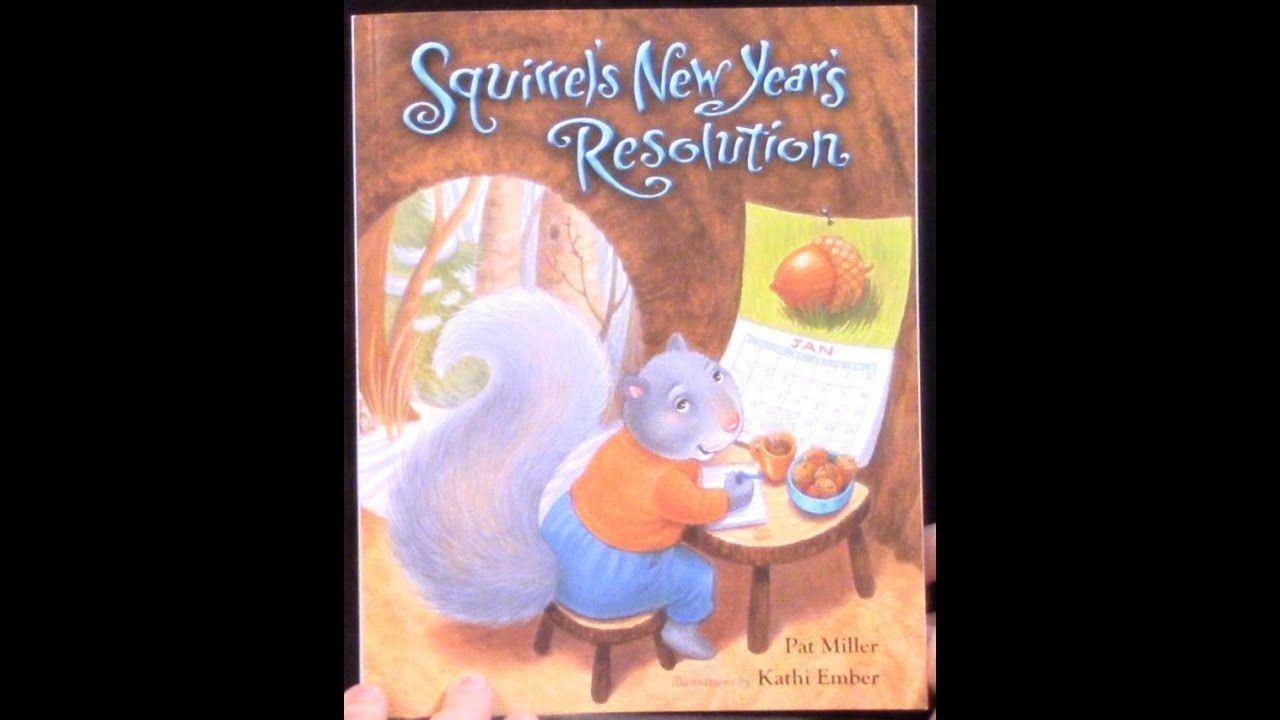 Squirrel's New Year's Resolution Winter kindergarten