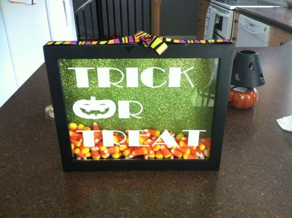 Halloween Shadow Boxes by TheSparklingGem on Etsy