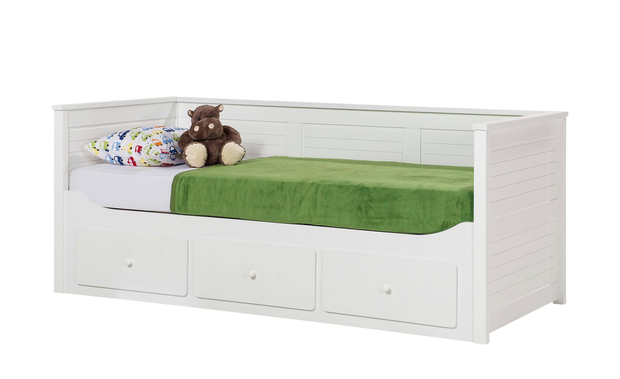 Landhaus Tagesbett 90x200 Mit Schubkasten Weiss Merton Bed Toddler Bed Bunk Beds