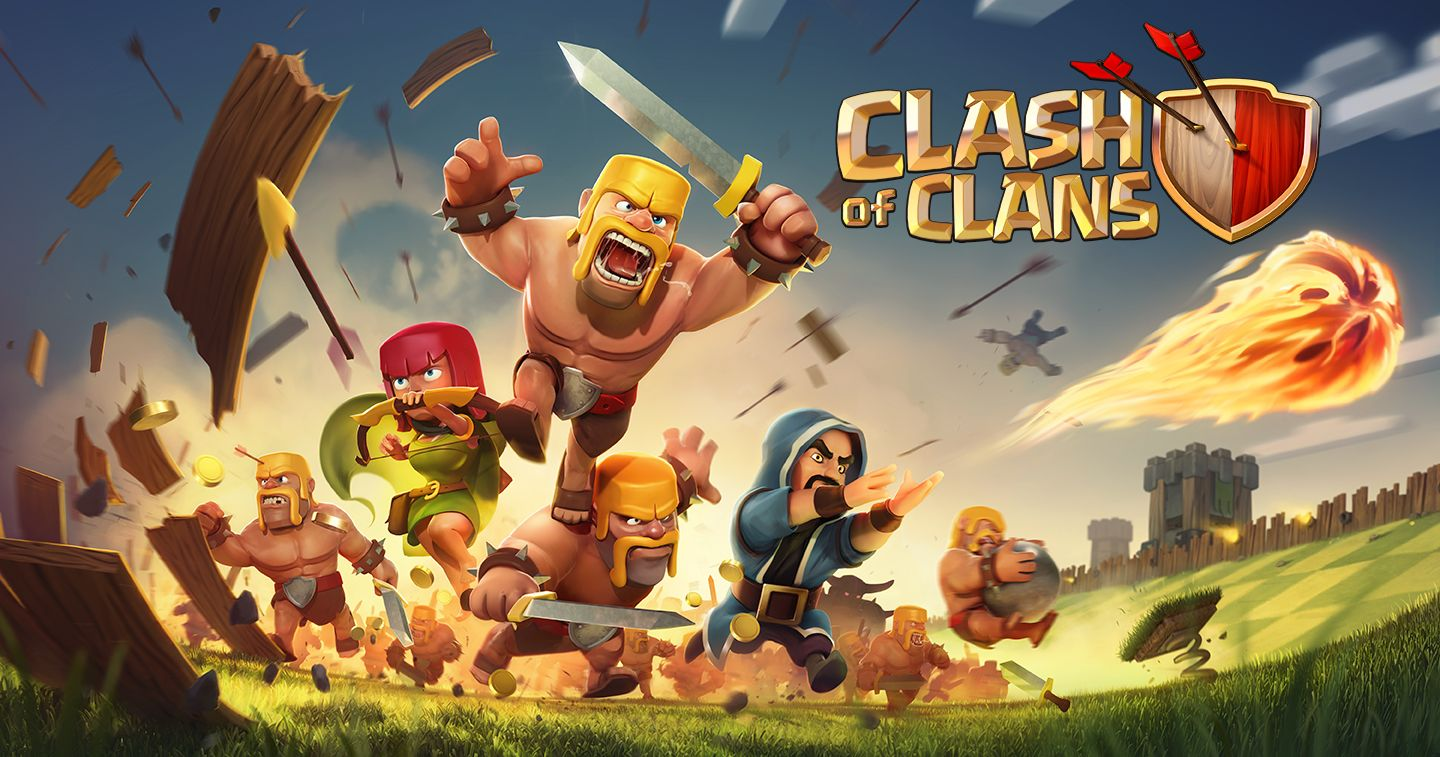 Clash Clans Hack Cheat Android iOS gry Pinterest Clash