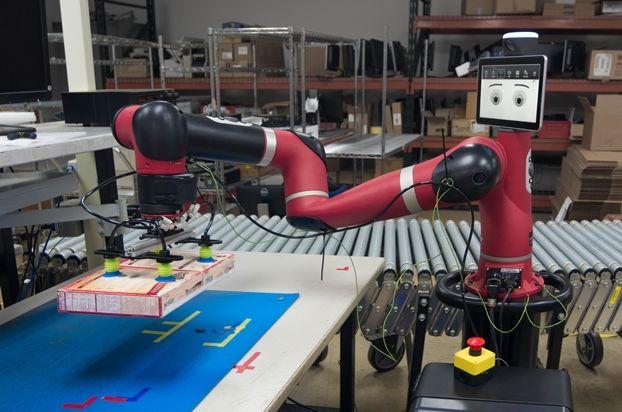 Kollaborative Roboter sind die neuen Helfer in DHL Warenlagern - http://www.onlinemarktplatz.de/67648/kiollaborative-roboter-sind-die-neuen-helfer-in-dhl-warenlagern/