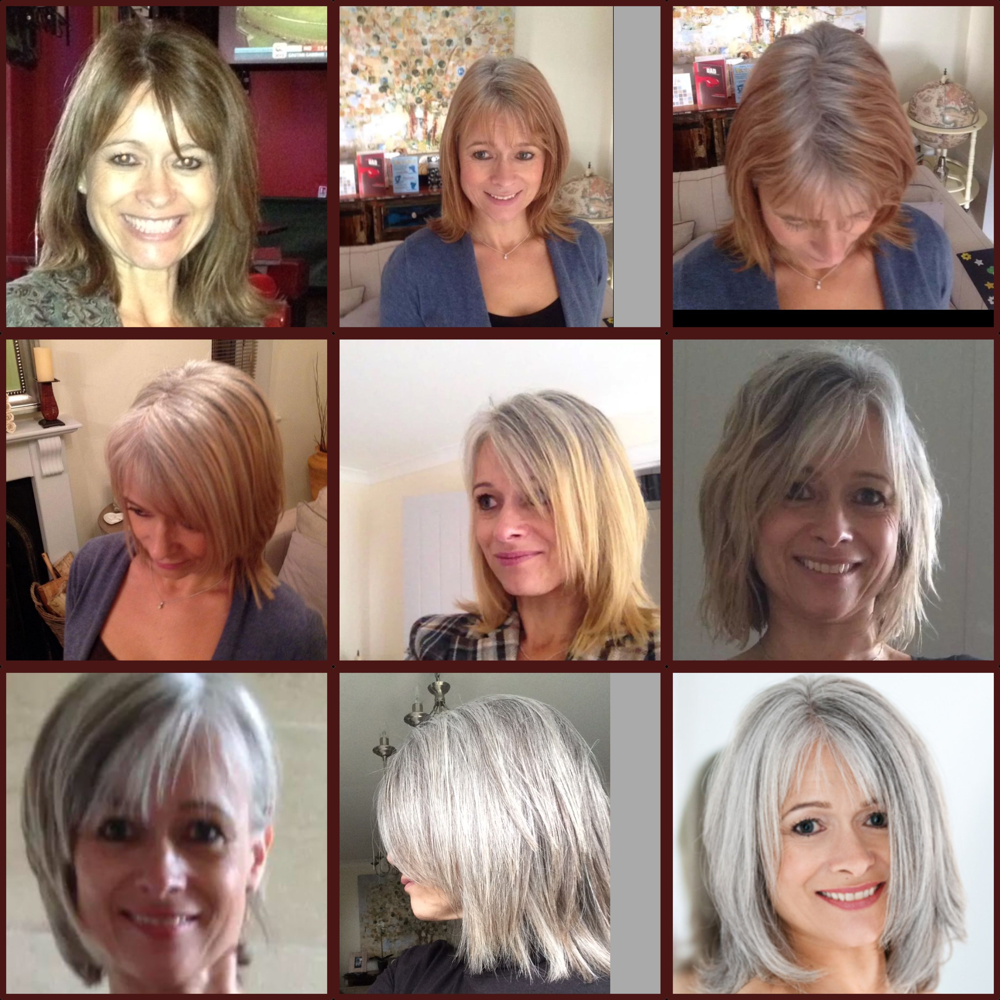 11 Month Transition To Grey Silver Pinterest Gray Gray