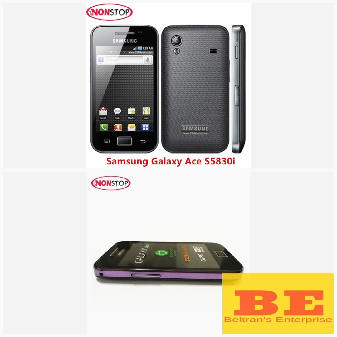 Unlock S5830i Samsung Galaxy Ace S5830 Original Android 5MP