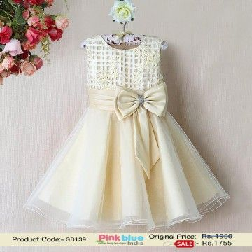 Cream Colored Party Dress