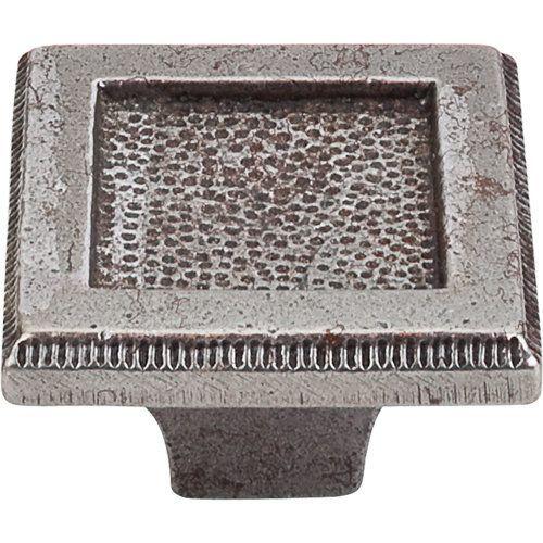 Top S M1819 Britannia 2 Inch Square Cabinet Cast Iron Hardware
