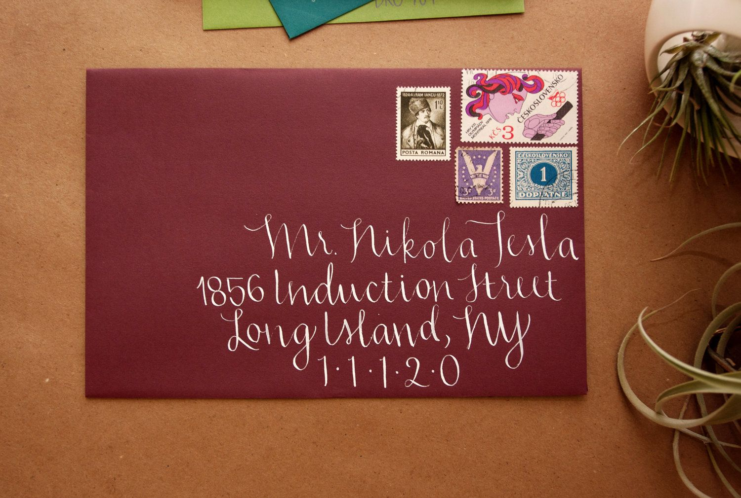 Calligraphy Envelope Addressing | Invitations | Pinterest ...