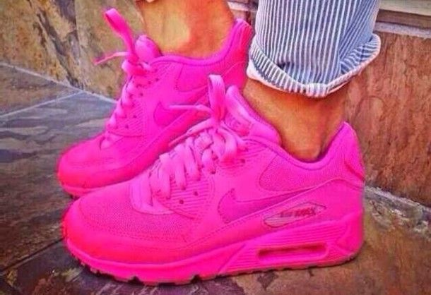 shoes nike air airmax hot pink. nike airmax 90 hyperfuse