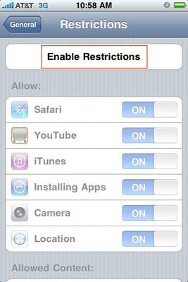 How to set up Parental Controls on your iPhone iPhone