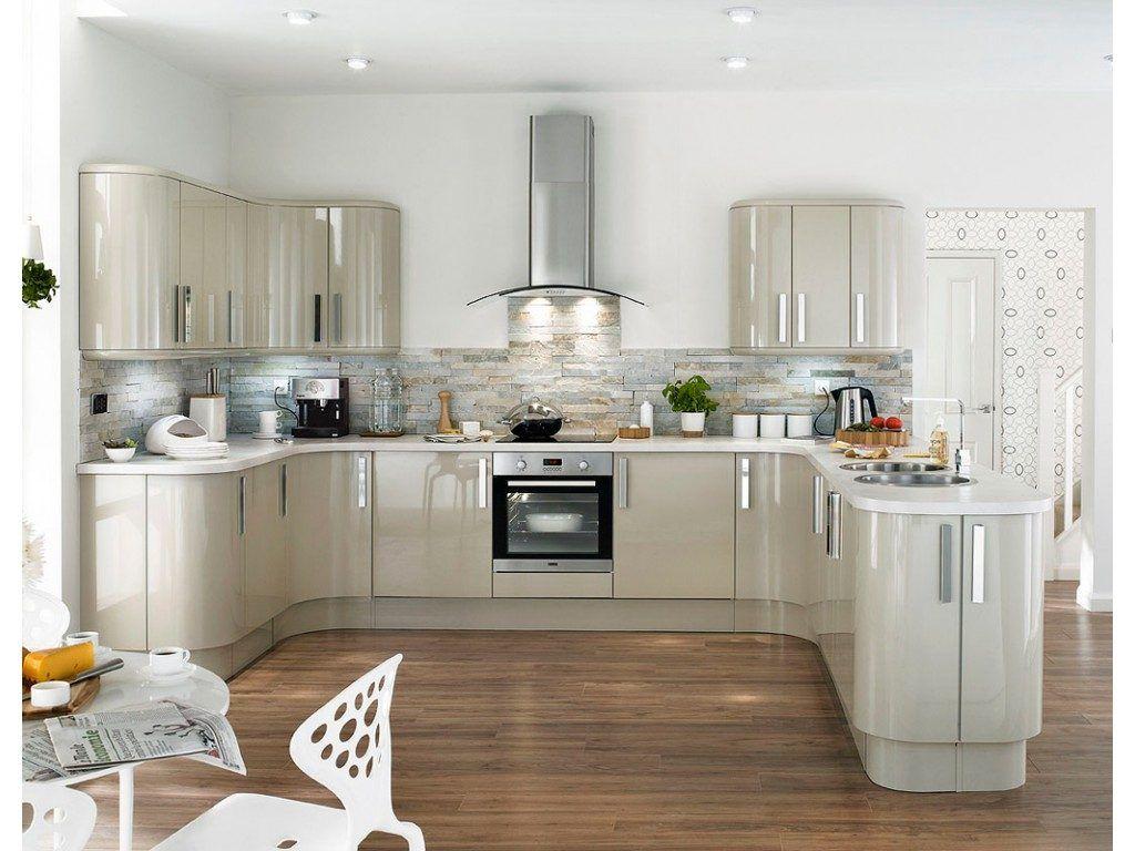 Cocina moderna con forma de U | Diseño Exteriores e Interiores ...