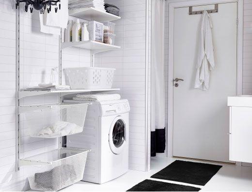 Vaskerom Toyvask Og Rengjoring Algot Oppbevaringssystem Og Mer