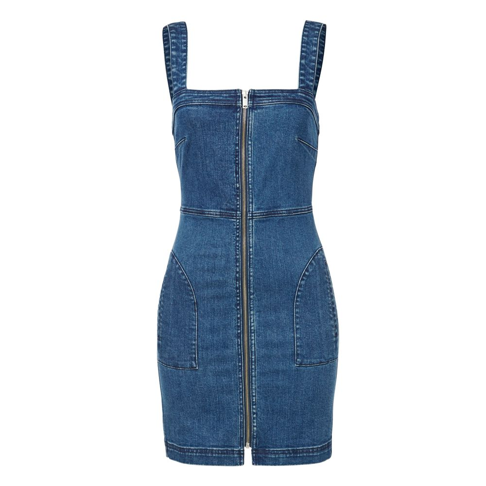 82ecb78b3b Denim Zip Up Dress.  seedheritage  seed  woman